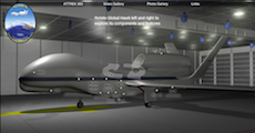 ATTREX Global Hawk flash model